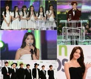 2015 Melon Music Awards 获奖名单公开